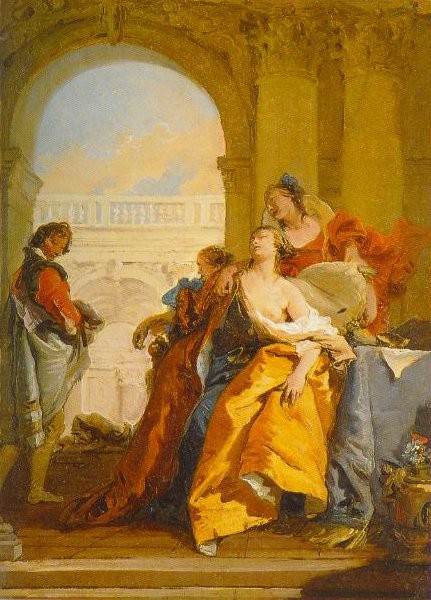 The Death Of Sophonisba 1755 1760 | Giambattista Tiepolo | Oil Painting