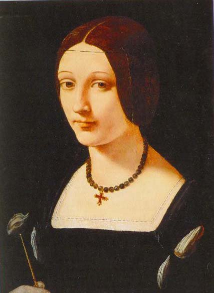 Portrait Of Lady As St Lucy 1500 1510 | Giovanni Antonio Boltraffio | Oil Painting