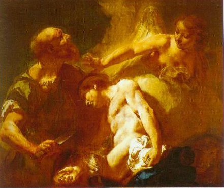 The Sacrifice Of Isaac 1715 | Giovanni Battista Piazzetta | Oil Painting
