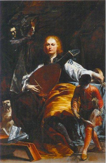 Count Fulvio Grati 1700 1720 | Giuseppe Maria Crespi | Oil Painting