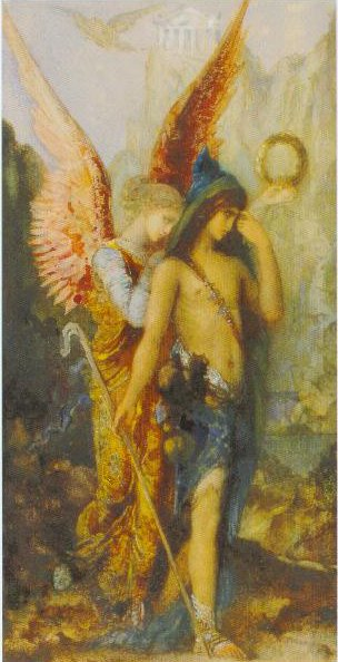 The Voices Watercolour And Gouache On Paper 1867 | Gustave Moreau | Oil Painting