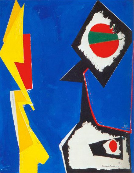 Blue Enchantment 1951 | Hans Hofmann | Oil Painting