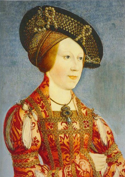 Queen Anne Of Hungary And Bohemia 1519 | Hans Maler | Oil Painting