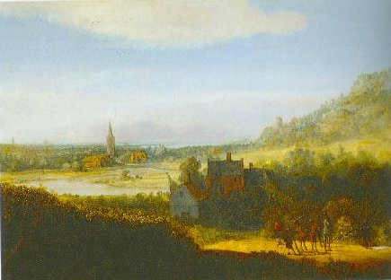 Landscape With Armed Men 1625 1635 | Hercules Pietersz Seghers | Oil Painting