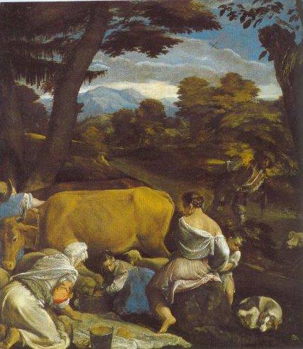 Pastoral Scene 1560 | Jacopo Bassano | Oil Painting