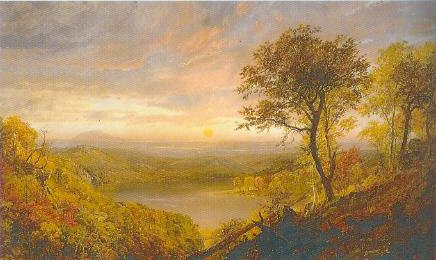 Greenwood Lake 1870 | Jasper Francis Cropsey | Oil Painting