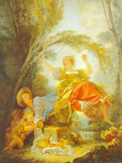 The Swing 1750 1755 | Jean Honore Fragonard | Oil Painting