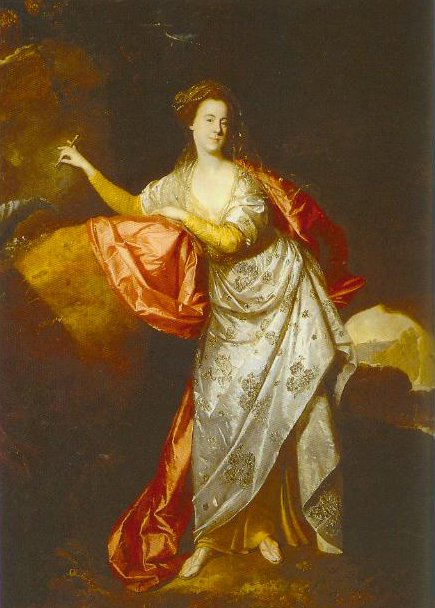 Portrait Of Ann Brown In The Role Of Miranda 1770 | Johann  Zoffany | Oil Painting