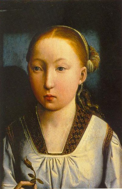 Portrait Of An Infanta 1496 | Juan De Flandes | Oil Painting