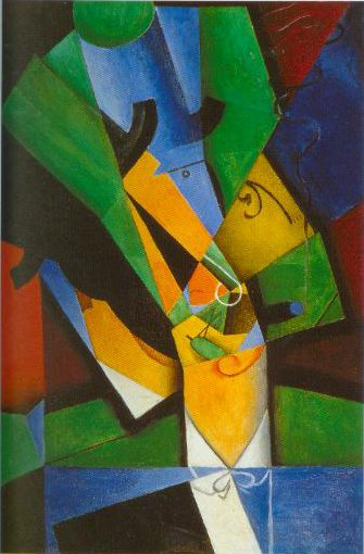 The Smoker 1913 | Juan Gris | Oil Painting
