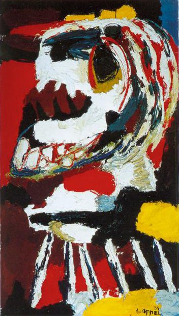 Wild Horses 1954 | Karel Appel | Oil Painting
