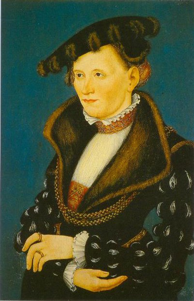Portrait Of A Woman 1539 | Lucas Cranach The Younger | Oil Painting