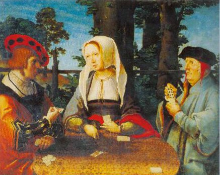 The Card Players 1520 | Lucas Van Leyden | Oil Painting