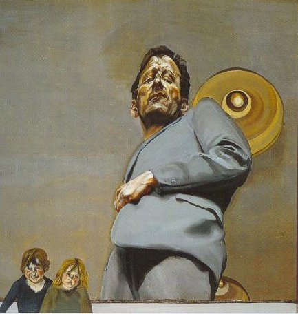 Reflection With Two Children Self Portrait 1965 | Lucian Freud | Oil Painting