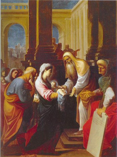 The Presentation In The Temple 1605   Ludovico Carracci   Oil Painting