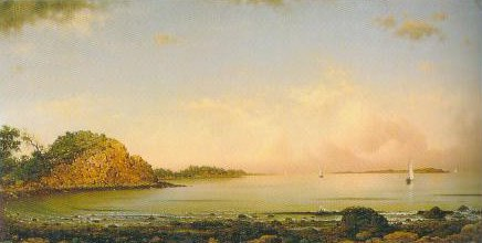 Spouting Rock Newport 1862 | Martin Johnson Heade | Oil Painting