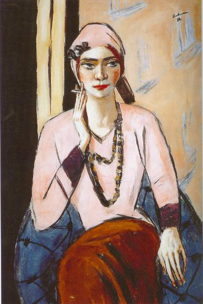 Quappi In Pink 1932 1934 | Max Beckmann | Oil Painting
