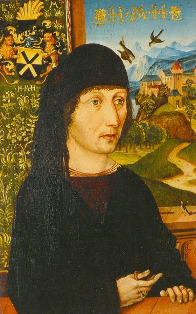 Portrait Of Levinus Memminger 1485 | Michael Wohlgemut | Oil Painting