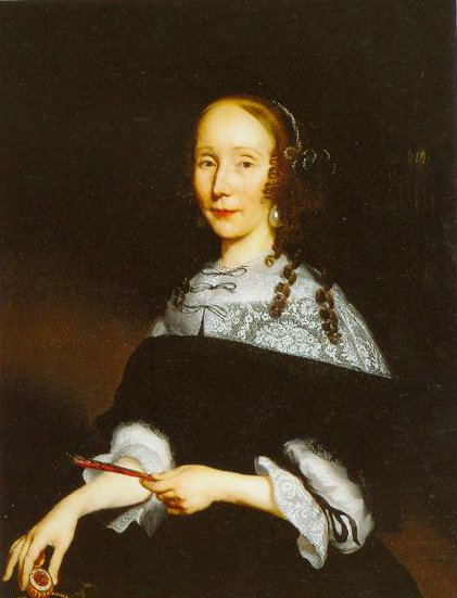 Portrait Of A Lady 1667 | Nicolaes Maes | Oil Painting