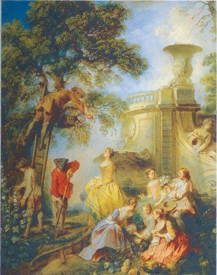 The Earth Undated 1730 | Nicolas Lancret | Oil Painting