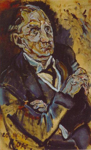 Portrait Of Max Schmidt 1914 | Oskar Kokoschka | Oil Painting