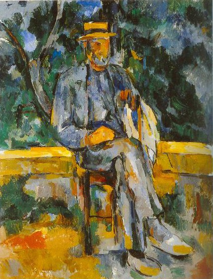 Portrait Of A Famer 1901 1906 | Paul Cezanne | Oil Painting