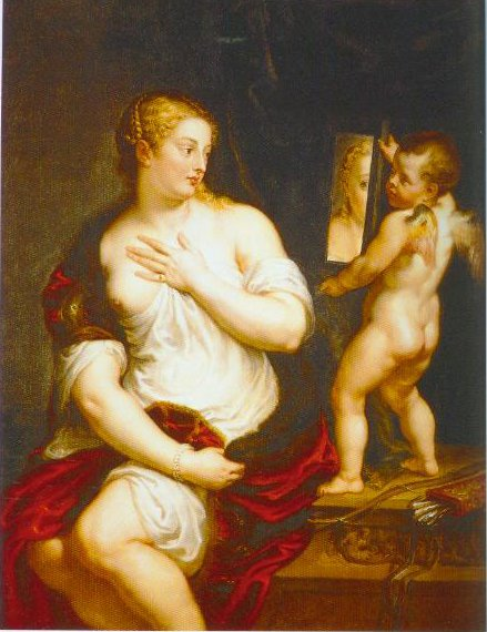 Venus And Cupid 1600 1608 | Peter Paul Rubens | Oil Painting