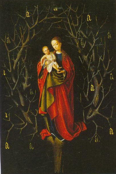 The Virgin Of The Dry Tree 1460 | Petrus Christus | Oil Painting