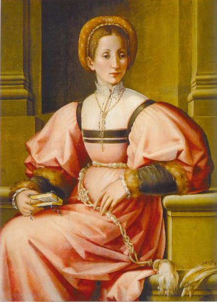Portrait Of A Lady 1530 1535 | Pierfrancesco Di Giacomo Foschhi | Oil Painting