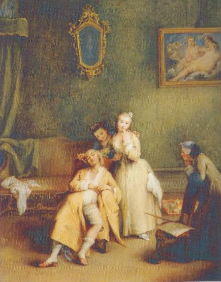 The Tickle 1755 | Pietro Longhi | Oil Painting