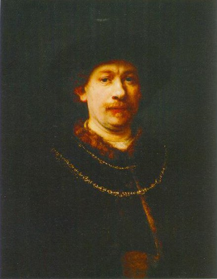 Self Portrait 1643 | Rembrandt Harmensz Van Rijn | Oil Painting