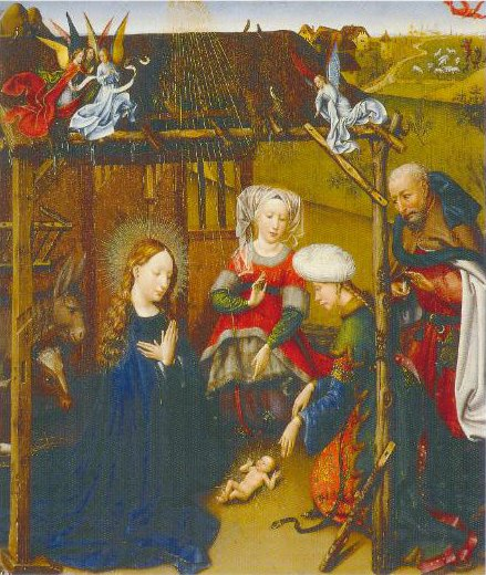 Portrait Ofjacques Daret The Adoration Of The Child 1434 1435 | Robert Campain | Oil Painting