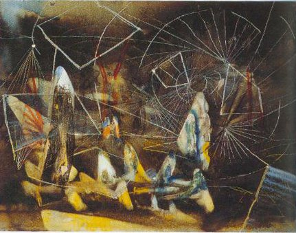 Composition 1939 | Roberto Matta | Oil Painting