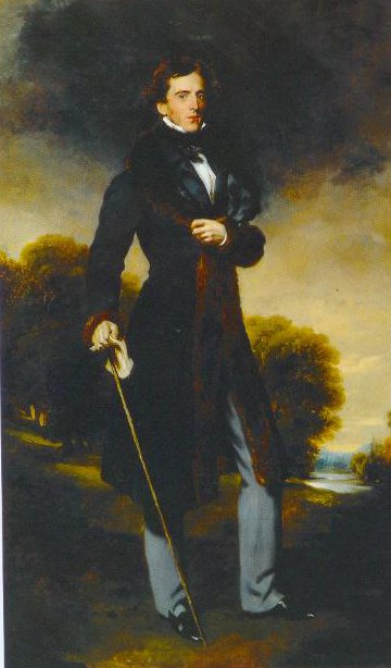 Portrait Of David Lyon 1825 | Sir Thomas Lawrence | Oil Painting