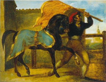 The Horse Race 1816 1817 | Theodore Gericault | Oil Painting