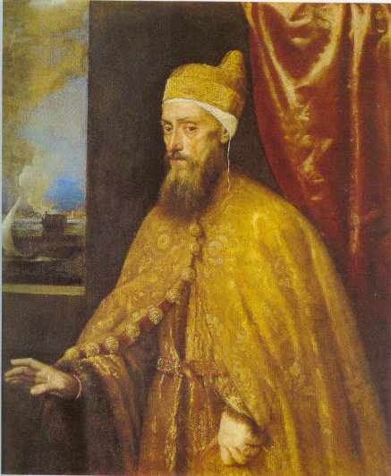 Portrait Of Doge Francesco Venier 1554 1556 | Titian | Oil Painting