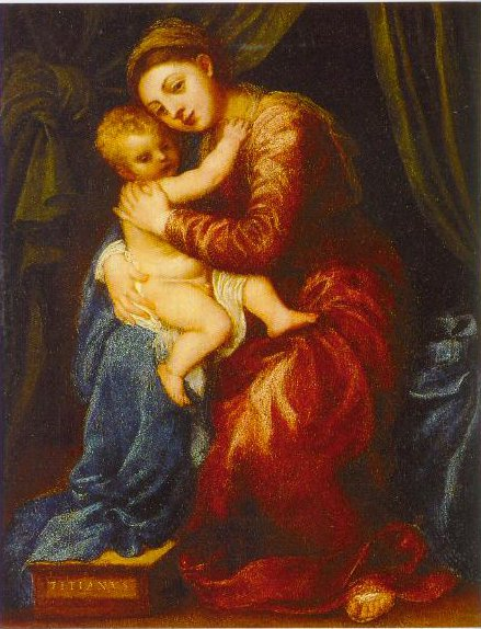 The Virgin And Child 1545 | Titian | Oil Painting