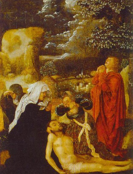 The Lamentation 1510 | Ulrich Apt The Elder | Oil Painting