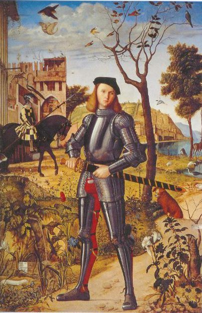 Young Knight In A Landscape 1510 | Vittore Carpaccio | Oil Painting