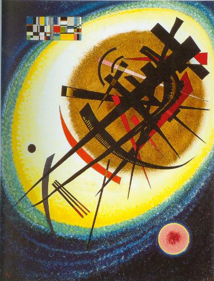 In The Bright Oval 1925 | Wassily Kandinsky | Oil Painting