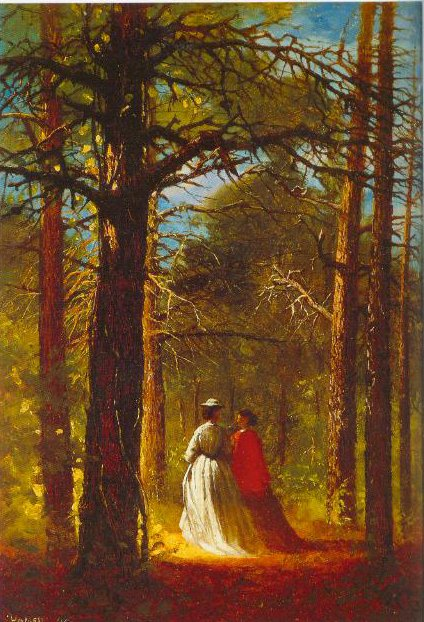 Waverly Oaks 1864 | Winslow Homer | Oil Painting