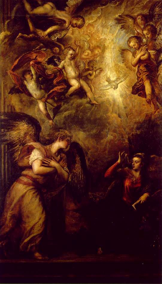 Annunciation | Titian | Oil Painting