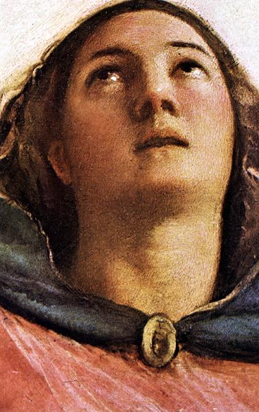 Assumption Of The Virgin Detail 1 | Titian | Oil Painting