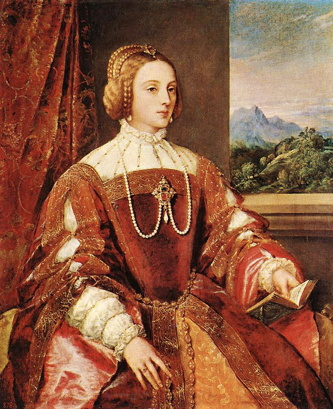Empress Isabel Of Portugal | Titian | Oil Painting