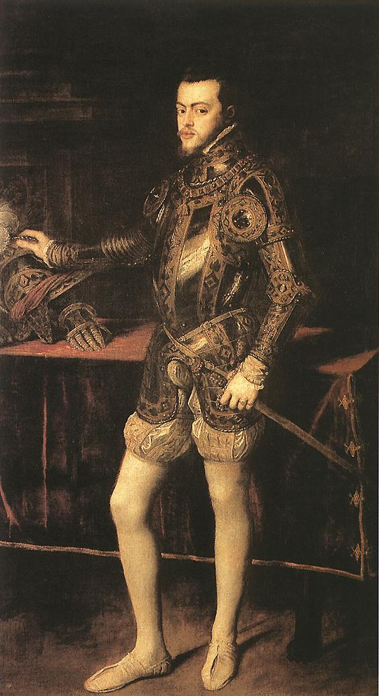 King Philip II | Titian | Oil Painting