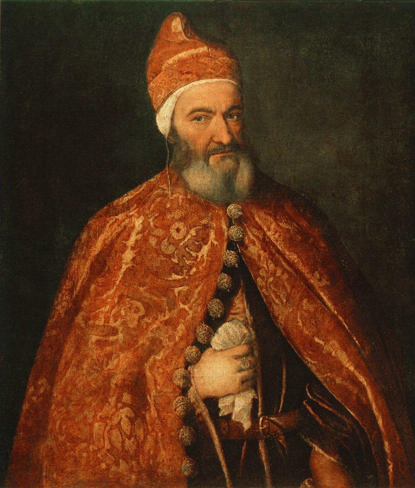 Portrait Of Marcantonio Trevisani   Titian   Oil Painting