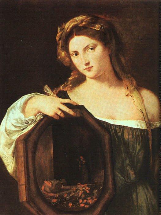 Profane Love (Vanity)   Titian   Oil Painting