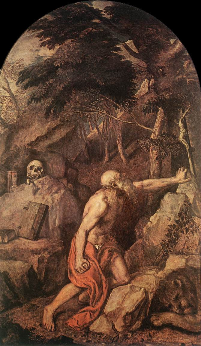 St Jerome | Titian | Oil Painting
