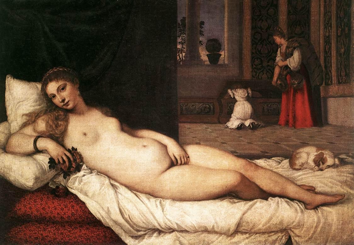 The Venus Of Urbino | Titian | Oil Painting