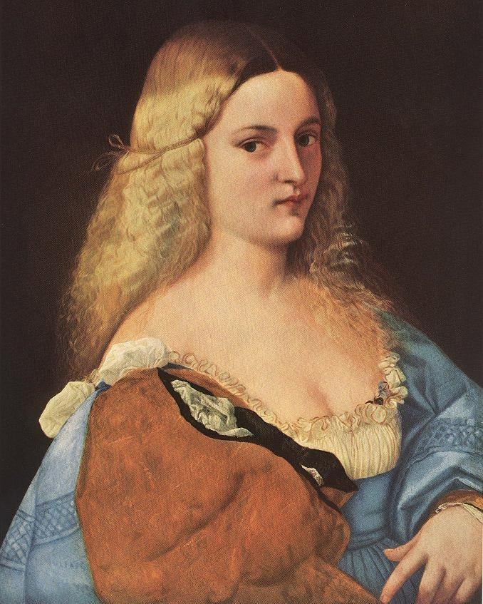 Violante (La Bella Gatta) | Titian | Oil Painting